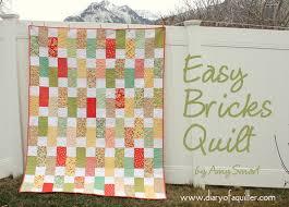 Easy Strawberry Fields Bricks Quilt Â« Moda Bake Shop & Easy Strawberry Fields Bricks Quilt Adamdwight.com