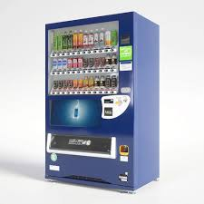 Can Vending Machine Interesting Can Vending Machine 48 Button 48D CGTrader