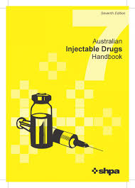Injectable Drug Compatibility Chart Australian Injectable Drugs Handbook Aidh 7th Edition
