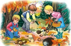 Znalezione obrazy dla zapytania zwierzęta w lesie rysunek