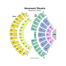 Rosemont Theatre Seating Chart With Seat Numbers Rosemont Theatre Events And Concerts In Rosemont Rosemont