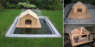 astonishing build a floating duck house how to home design garden