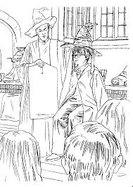 Harry Potter And The Sorcerers Stone Coloring Pages