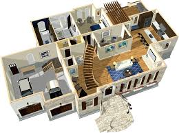 idea free 3d drawing for house plans for home design in home designer pro free