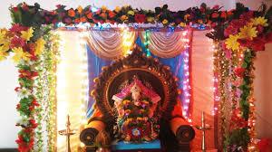 2016 gauri ganpati decoration