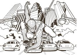 Small Picture Download Coloring Pages Spider Man Page With Spiderman Pages Pdf