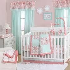 4 piece baby crib bedding set