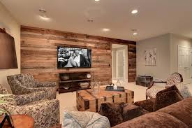 basement accent wall ideas basement traditional with theater regarding basement wall accents photo 1 of
