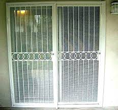 screen door for sliding door sliding glass door security security doors for sliding glass doors screen
