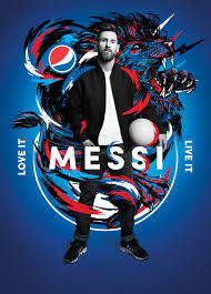 Pepsi Herrera Designs Photos Lionel Messi Dele Alli And Pepsi All Star Teammates