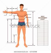 body measurement chart for men 20 veritable fitness measurements chart