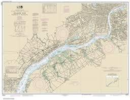 12312 Delaware River Wilmington To Philadelphia Nautical Chart