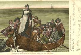 「1620 – Pilgrims set sail from England on the Mayflower.」の画像検索結果