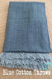 Denim Throw Blanket