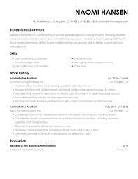 Office Administration Resume Samples Executive Assistant Resume Examples Created By Pros Myperfectresume