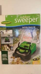 Green outdoor sweeper thumb