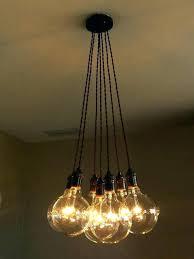 diy hanging edison lights nostalgic quad loop style bulb