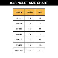 Matman Singlet Size Chart Matman Doubleknit Nylon Adult Wrestling Singlet Matman 83 Nylon Fabric Black White X Large