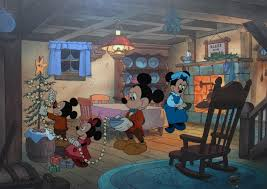 Disney Animation Art Mickey's Christmas Carol Limited Edition Cel