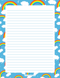 Small Picture Free Printable Stationery and Writing Paper PAGE 6