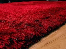 red plush rug gy set large