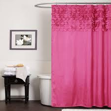 pink shower curtains. Lush Decor Lillian Pink Shower Curtain - Home Bed \u0026 Bath Bathroom Accessories Curtains N