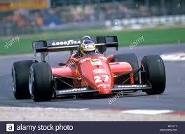 1984 Michele Alboreto italienischen Ferrari 126 3 Monza italienischen GP  2nd FL Stockfotografie - Alamy