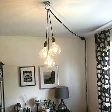 plug in hanging lighting. Amazing Plug In Hanging Swag Lamp Petvetclub With Regard To Lamps Attractive Lighting L