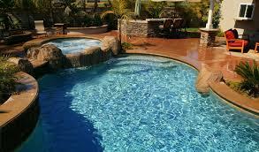 Pool Backyard Designs Cool Natural Inground Swimming Pool Stone
