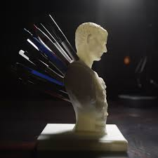 Julius Caesar Pencil Holder Beauteous Free Stl File Julius Caesar Improved PenPencil Holder � Cults
