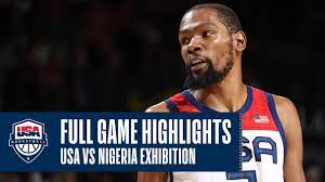 USA vs. NIGERIA EXHIBITION
