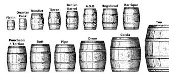 barrel size understanding oak barrel maturation part 1 know your casks