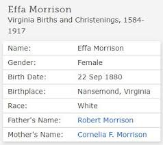 Jollett Etc.: 52 Ancestors: Effie Times Two