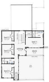 2100 Square Feet Home Plans Plan Foot Open House Ranch House Plan 2200 Square Foot House Plans