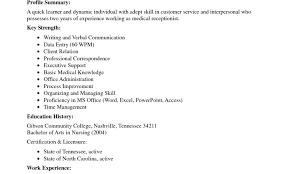 Resume Stylish Dermatology Medical Assistant Resume Awesome