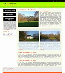 business website template two column css template by business website template