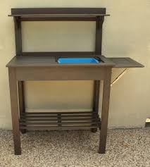 Potting Benches Potting Bench Turned Outdoor Bar