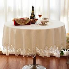 nice dining table cloth on luxury fashion round table cloth dining table cloth lace decoration dining