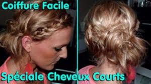 Photo Coiffure Tresse Cheveux Court Facile Coupe De Cheveux