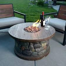 gas fire pit table diy natural