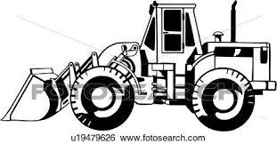 工事用重機 建設 重い装置 取引しなさい クリップアート
