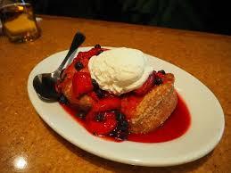 berry short cake at garden grill disney menu