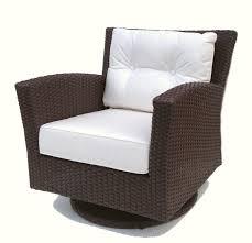Outdoor wicker swivel rocker chair sonoma