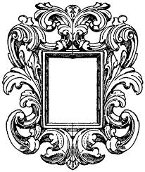 Image Simple German Mirrorframe Educational Technology Clearinghouse German Mirrorframe Clipart Etc