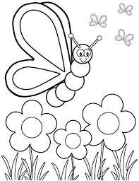 Spring Flower Coloring Pages Coloringsuitecom