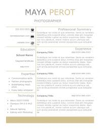 Resume Template With Photo New Slick Resume Templates Pack The Grid System 79