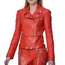 cute designer style celebrity women leather womens leather jackets