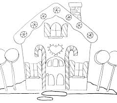 gingerbread house coloring sheet free gingerbread house coloring pages kurtu org