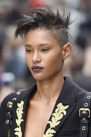 Coiffure Mariage Femme Africaine Cheveux Court Noire
