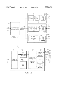 patent us multi protocol local area network controller patent drawing